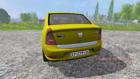 Dacia Logan para Farming Simulator 2015