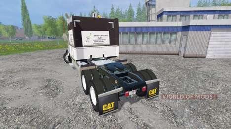 Peterbilt 388 para Farming Simulator 2015