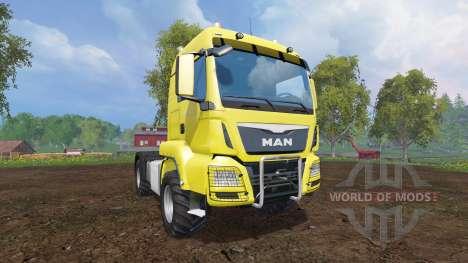 MAN TGS 18.440 [agricultural] v2.1 para Farming Simulator 2015