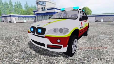 BMW X5 NEF para Farming Simulator 2015