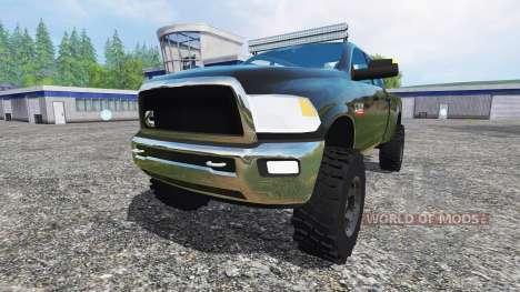 Dodge Ram 2500 2012 v4.0 para Farming Simulator 2015