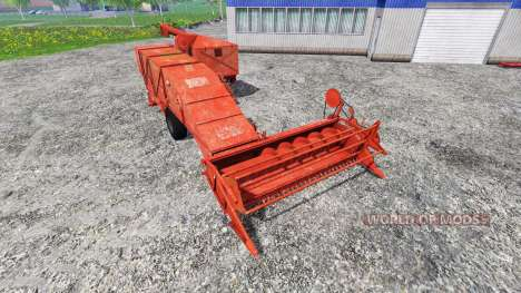 Bizon Z020 para Farming Simulator 2015