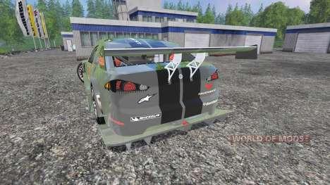 Chevrolet Impala SS NASCAR [Ravenwest] para Farming Simulator 2015