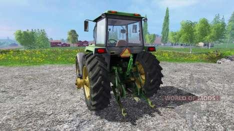 John Deere 4755 v2.0 para Farming Simulator 2015