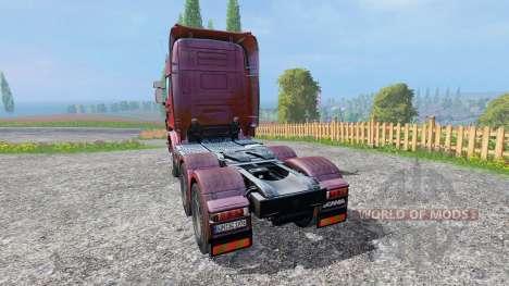 Scania R730 [Topline] v2.0 para Farming Simulator 2015