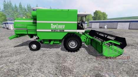 Deutz-Fahr TopLiner 4080 HTS para Farming Simulator 2015