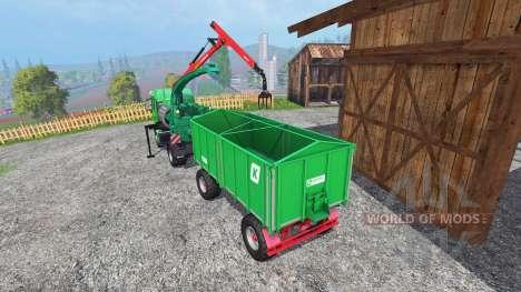 MAN TGS mobile chipper v1.0 para Farming Simulator 2015