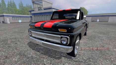 Chevrolet C10 Fleetside 1966 [tuning] para Farming Simulator 2015