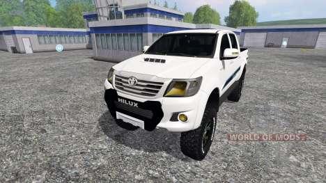 Toyota Hilux v1.2 para Farming Simulator 2015