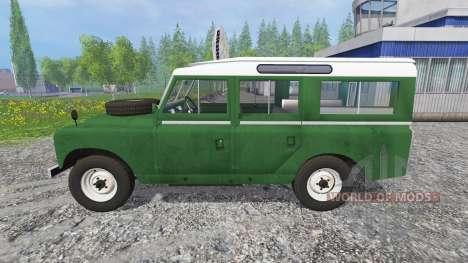 Land Rover Series IIa Station Wagon para Farming Simulator 2015