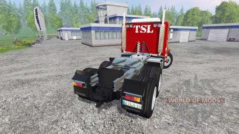 Scania 143H para Farming Simulator 2015