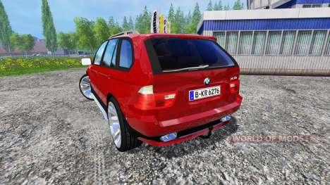 BMW X5 2004 para Farming Simulator 2015