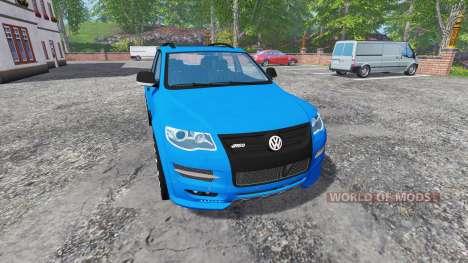 Volkswagen Touareg I para Farming Simulator 2015