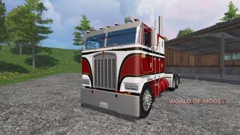 Kenworth K100 v2.0 para Farming Simulator 2015
