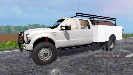 Ford F-350 [service truck] para Farming Simulator 2015