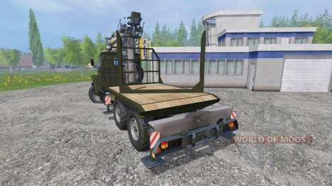 Ural-4320 [de madera] para Farming Simulator 2015