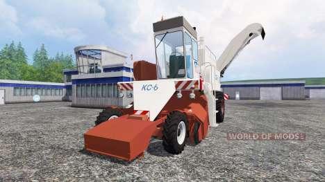 La COP-6 para Farming Simulator 2015