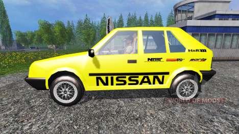 Nissan Micra [racing edition] v2.0 para Farming Simulator 2015