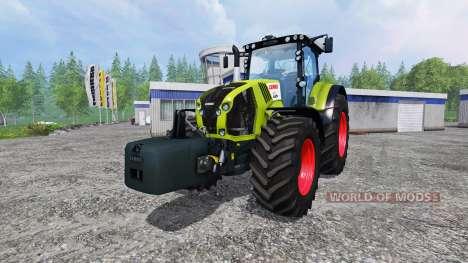 CLAAS Axion 870 v1.5 para Farming Simulator 2015