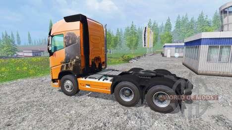 Volvo FH16 2012 para Farming Simulator 2015
