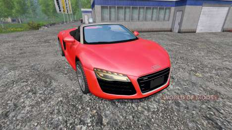 Audi R8 Spyder v1.0 para Farming Simulator 2015