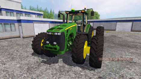 John Deere 8530 [USA] v2.0 para Farming Simulator 2015