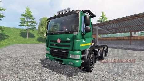 Tatra Phoenix T 158 6x6 [AgroTruck] para Farming Simulator 2015