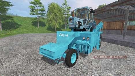 RKS-4 v2.0 para Farming Simulator 2015
