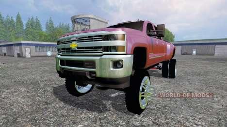 Chevrolet Silverado 3500 [lift] para Farming Simulator 2015