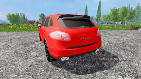 Porsche Cayenne 2013 para Farming Simulator 2015