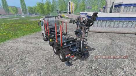 MAN TGS 18.440 [forestry] v2.0 para Farming Simulator 2015
