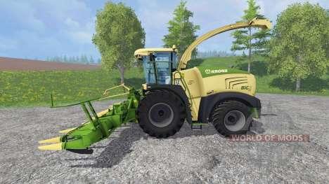 Krone Big X 580 [no gloss] para Farming Simulator 2015