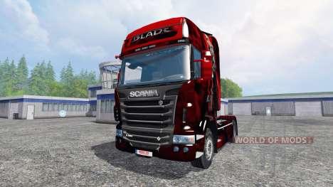 Scania R560 [blade] para Farming Simulator 2015