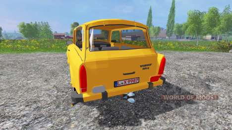 Trabant 601 S v0.9 para Farming Simulator 2015