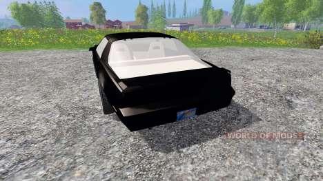 Pontiac Firebird Trans Am [K.I.T.T.] para Farming Simulator 2015