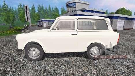 Trabant 601 S v0.5 para Farming Simulator 2015