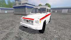 Mercedes-Benz G65 AMG Ambulance