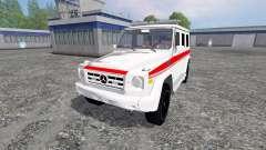 Mercedes-Benz G65 AMG Ambulance