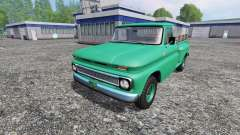 Chevrolet C10 Fleetside 1966 [custom] v1.1