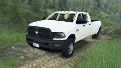 Dodge Ram 3500 dually v1.2 [08.11.15] para Spin Tires