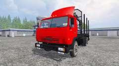 KamAZ-54115 [de madera]