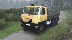 Tatra 815 S3 [yellow][08.11.15] para Spin Tires