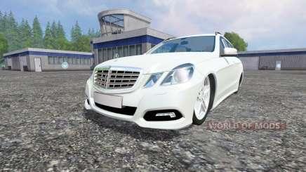 Mercedes-Benz E350 [beta] para Farming Simulator 2015