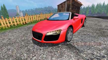 Audi R8 Spyder para Farming Simulator 2015