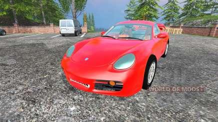 Porsche Cayman [final] para Farming Simulator 2015