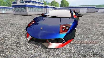 Lamborghini Murcielago LP 670-4 SuperVeloce para Farming Simulator 2015