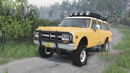 GMC Suburban 1972 [08.11.15] para Spin Tires