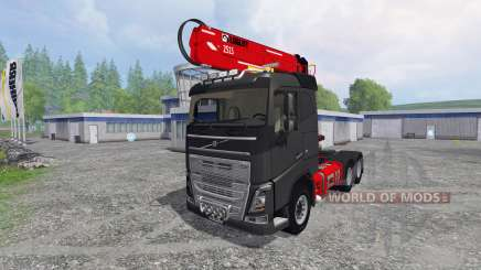 Volvo FH16 750 [grumier] para Farming Simulator 2015