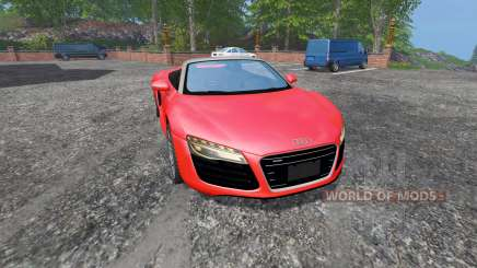 Audi R8 Spyder v1.1 para Farming Simulator 2015