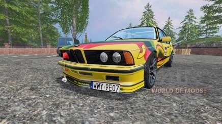 BMW M635CSi (E24) v2.0 para Farming Simulator 2015